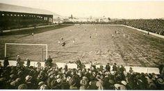 Inauguración nueva tribuna de Mestalla con un partido contra el Castellón (1927)