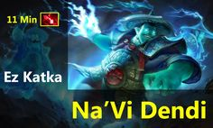 Dendi Storm Spirit Gameplay - Ez Katka - Dota 2 Highlights