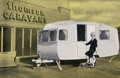 1961 Thomson caravans brochure