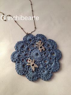 Ganchibearte: Bisuteria de Crochet: Colgante   Inspiración