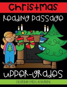 Get ready for Christmas with this close-reading passage, set of five corresponding comprehension questions (multiple choice), answer key, and lesson plan!