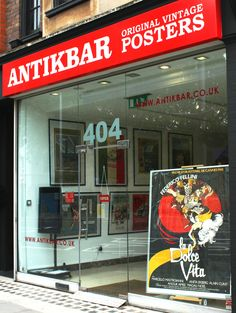 Time flies when you're having fun... Our new gallery has been open for 5 months! Have you been able to visit us yet? You can now leave us a rating and review on Google at https://www.google.co.uk/maps/place/AntikBar+-+Original+Vintage+Posters/@51.4836027,-0.1771825,15z/data=!4m2!3m1!1s0x0:0xb6265ccdd10b529?sa=X&ved=0ahUKEwiMsPLv_LvOAhVHnRoKHQ2jAOgQ_BIIdTAN and on Yell at https://www.yell.com/biz/antikbar-original-vintage-posters-london-8507617/. Thank you! AntikBar.co.uk