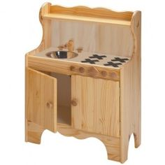 Wooden Play Kitchen $199.95