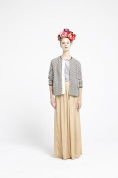 The new Bellerose long skirt, elegance and comfort with a silky touch