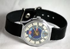 Dear Customer!          I am pleased to offer for sale this vintage soviet (USSR) timepiece SLAVA           The watch is in perfectly working order.All watches in my Store are mechanical, they works without battery.Youll need to wind it regularly.A Full wound watch will run accurately from 24 to 48 hours – depending of the movement.     The Wrist watch is used as seen on the photos.The Wrist watches is in a fully working condition, recently serviced, cleaned and oiled.It comes with a brand…