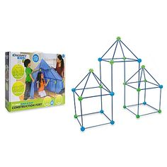 Build young imaginations with the Discovery Kids Build and Play Construction Fort Set. This fun and exciting set includes 77 pieces for endless ways to play. This study rod set lets you build large structures including playhouses, forts, castles and more.