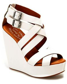 Kork-Ease 'Hailey' Leather Wedge Sandal