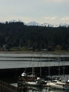 Liberty Bay, Olympic Mountains, Poulsbo Washington