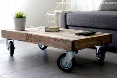 Rustic-Pallet-Coffee-Table.jpg 610×407 pixels