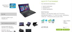 Buy all Acer products from Acer store Australia. We are one of the leading Acer products suppliers in Australian Market at remarkable price. http://www.acerstore.com.au/acer/store/