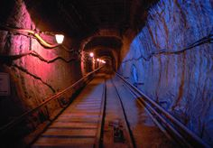 BOCHNIA SALT MINE, Poland: is one of the oldest salt mines in the world.  The mine was established between the 12th and 13th centuries & became part of the royal mining company.  The Ważyn chamber has a specific microclimate, with a constant temperature between 57–61°F, about 70% humidity & favourable ionisation of the air saturated by sodium chloride, magnesium, manganese, & calcium.