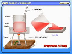 Physics Learn: To prepare Soap by cold process. Science practical GSEB for std 8 to 12.
