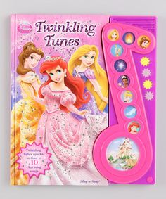 Another great find on #zulily! Twinkling Tunes Hardcover by Disney Princess #zulilyfinds
