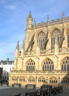 Bath Abbey and the Square