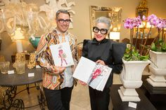 Book Signing with Joy Bianchi and Ari Cohen for Advanced Style: Older & Wiser - The book provides insights on lifestyle and fashion