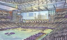 Proposed Vikings Stadium