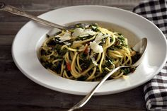 Kijk wat een lekker recept ik heb gevonden op Allerhande! Toscaanse boerenkool 'aglio e olio'