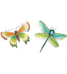 3-D Metal Butterfly Or Dragonfly Wall Art