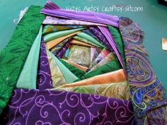 I'm a quilter and that means that I have tons of fabric scraps laying around waiting on my next project. And what better way to decorate a quilters home t… Gingham Fabric, Retro Fabric, Chenille Fabric, Cotton Quilting Fabric, Fabric Scraps, Scrap Fabric, Viscose Fabric, Drapery Fabric, Fabric Sofa