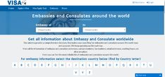 Get all information about Embassy and Consulate worldwide Our aim is to provide a comprehensive directory that makes your searching for embassies and consulates around the world easy and accurate. We keep updating our list each day.  Here all the information of embassy and consulate addresses, contact numbers, fax numbers, email addresses, working hours, etc all at one place.  Here you can find the most reliable list of embassies and consulates around the world.