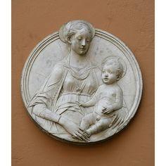 Virgin and child (Plaster cast)