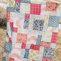 My favorite quick scrappy, or not, quilt to make.  Always looks great!    Quilt Story: Disappearing 9 patch tutorial...