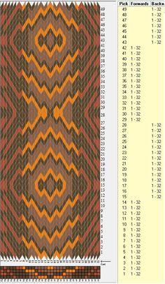 32 tarjetas, 4 colores, secuencia 14F-14B // sed_325 diseñado en GTT༺❁