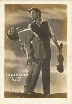 """myluckyerror: """"""""Barsaat"""" / 1949 / Nargis and Raj Kapoor """" Rare Images, Rare Pictures, Rare Photos, Bollywood Posters, Bollywood Actors, Old Film Stars, Movie Stars, Old Movie Quotes, Legendary Pictures"""