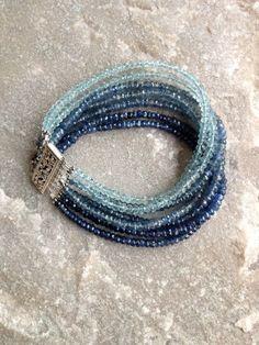 Multi-Strand Bracelet with SWA
