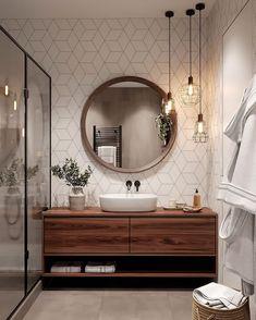 Bathroom Decor master home accents luxury Bathroom inspiration // Cozy bathroom , Cozy Bathroom, Scandinavian Bathroom, Bathroom Inspo, Wc Bathroom, Bathroom Ideas, Budget Bathroom, Master Bathrooms, Remodel Bathroom, Bathroom Cabinets