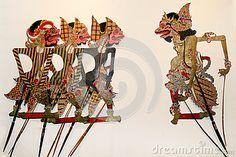 Shadow Puppet or wayang kulit
