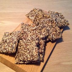Chia knækbrød -Glutenfri