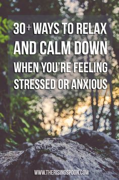 Ways to Relax and Keep Calm When You're Feeling Stressed Or Anxious. we all know stress causes flares Anxiety Relief, Stress And Anxiety, Stress Relief, How To Calm Anxiety, Calming Anxiety, Stress Less, Stress Free, Feeling Stressed, How Are You Feeling