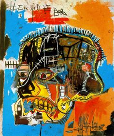 Artist: Jean Michel Basquiat Title: Untitled (Skull)  (1981) Movement: Neo-Expressionism Location: Broad Collection, Los Angeles - See more at: http://artsnapper.com/basquiat-his-influences-figures-why-hes-important-today/#sthash.PRGjPJzJ.dpuf