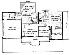 Houseplans.com Main Floor Plan Plan #335-428