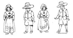 November poems and colouring page. Pilgrim and the Puritans were English to the bone... http://thecommonroomblog.com/?p=21704