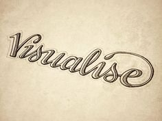 Hand Lettering by seanwes - Visualise