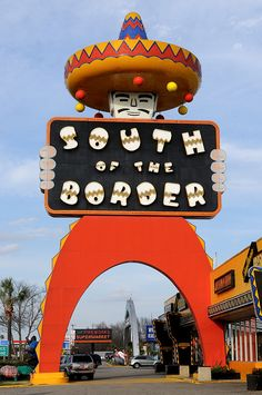 #South of the Border � Dillon, South Carolina  #Travel South Carolina USA multicityworldtravel.com We cover the world over 220 countries, 26 languages and 120 currencies Hotel and Flight deals.guarantee the best price