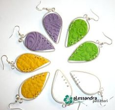 Polymer clay and wire wrapping by ryalisa