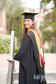 Graduation Photo to show stole