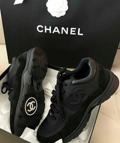 reputable site d05bc 6791c ~Shoes~  fashiongirla1 Basket Chanel, Chanel Shoes, Chanel Sneakers,  Jordans Sneakers