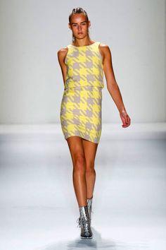 Checkerboard Runway Fashion Week Spring 2013 - Spring 2013 Fashion Trends - ELLE
