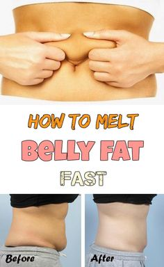 You have belly fat? Learn how to melt it fast