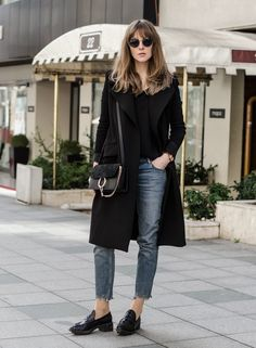 Black + Denim
