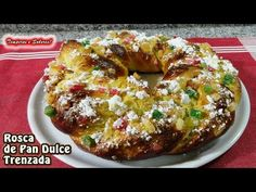 ROSCA DE PAN DULCE TRENZADO, demasiado fácil y delicioso - YouTube
