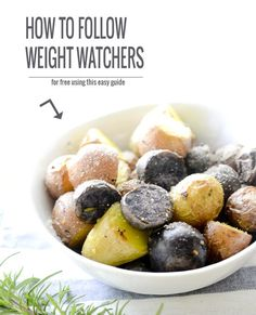 how to follow weight watcher's for free!