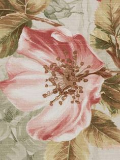 130028 Rosa Canina Coral Mint by Beacon Hill Floral Upholstery Fabric, Fabric Decor, Fabric Design, Beacon Hill, Soft Colors, Colorful Interiors, Color Inspiration, Floral Design, Fabrics