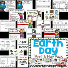 Earth Day Print & Pl