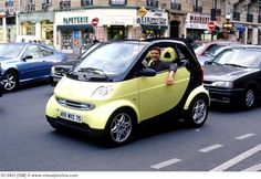 Mercedes Smart Car In Traffic BC0451  Stock Photos  Royalty Free