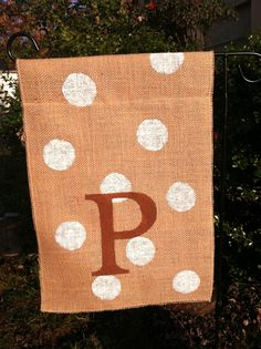 Making Your Own Monogram Garden Flags Design Your Own Garden